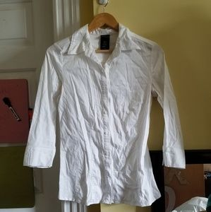 White Button Down Worn Once